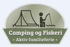 Logo camping og fiskeri